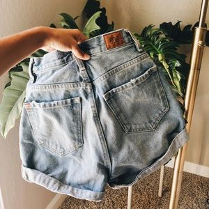 Urban Outfitters BDG MOM HIGH RISE shorts